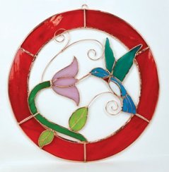 Hummingbird Gifts-Stained Glass