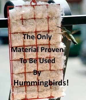 Hummer Helper Nesting Material Kit