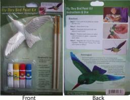 Hummingbird Fly Thru Bird Paint Kit
