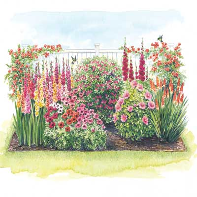 ... Hummingbird Garden Layout Flowers That Attract Hummingbirds Our  Personal Recommendations · ««