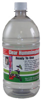 Clear Hummingbird Nectar