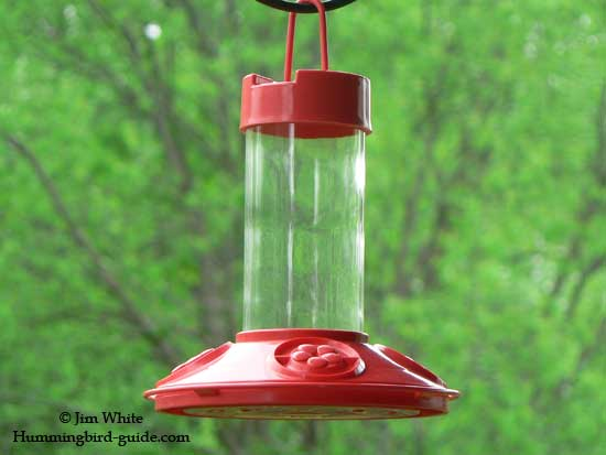 Our Dr.JBs Hummingbird Feeder