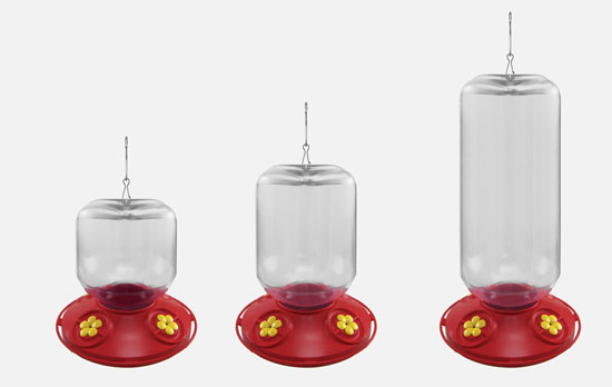 Dr.JB's Hummingbird Feeders-3 sizes