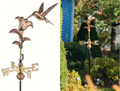 Hummingbird Weathervanes
