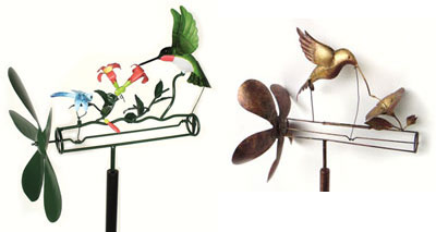 Hummingbird Whirligigs