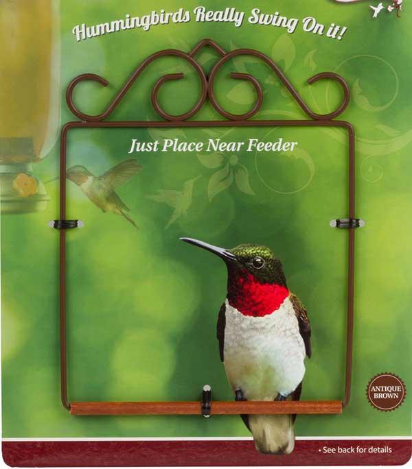 Flat Brown Hummingbird Swing