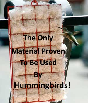 Hummer Helper Nesting Material Kit