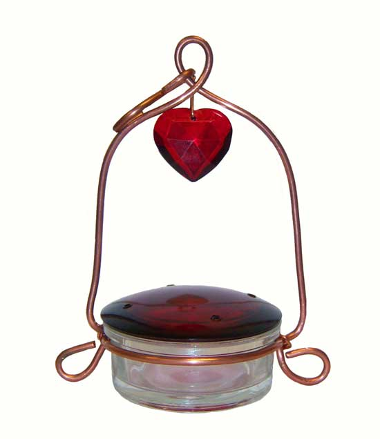 Tweet Heart Lantern Hummingbird Feeder