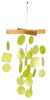 Lime Green Capiz Wind Chime