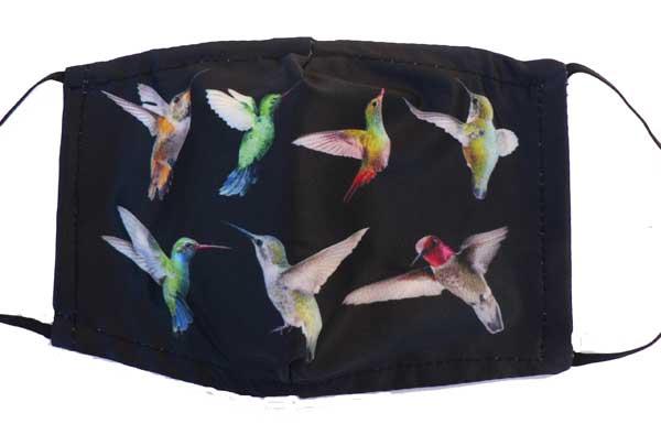 Hummingbird Collection Face Mask