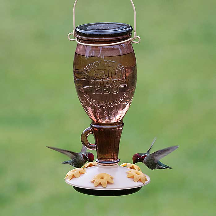 Sugar Maple Top Fill Hummingbird Feeder