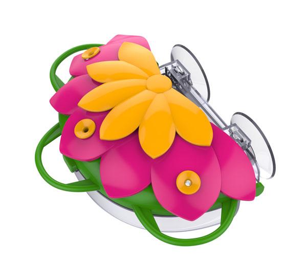 So Real Honeysuckle Window Hummingbird Feeder
